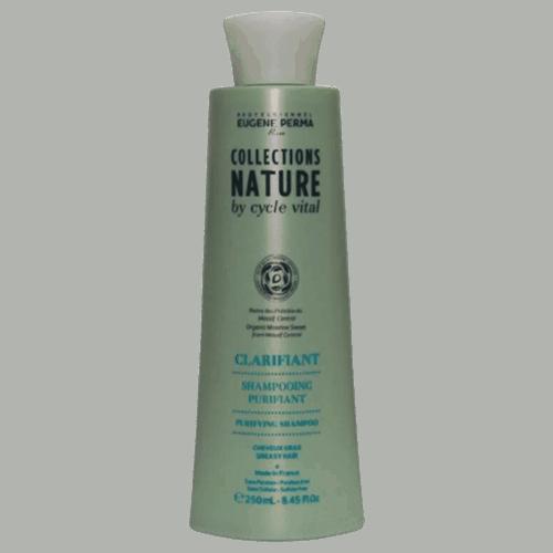 שמפו לשיער יבש וקרקפת שמנה סייקל ויטאל 250 מל - יוג'ין פרמה